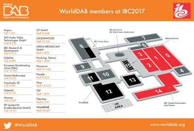 WorldDAB at IBC2017