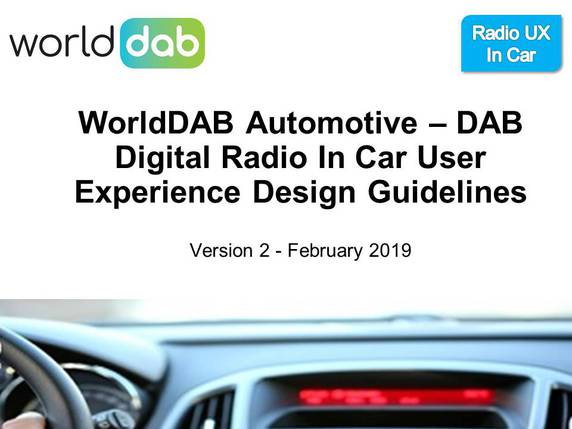 WorldDAB digital radio user experience guidelines